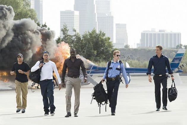 The Chopper's on Fire... No Biggie