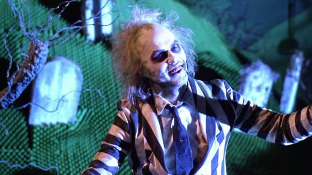 Michael Keaton Stars as Beetlejuice