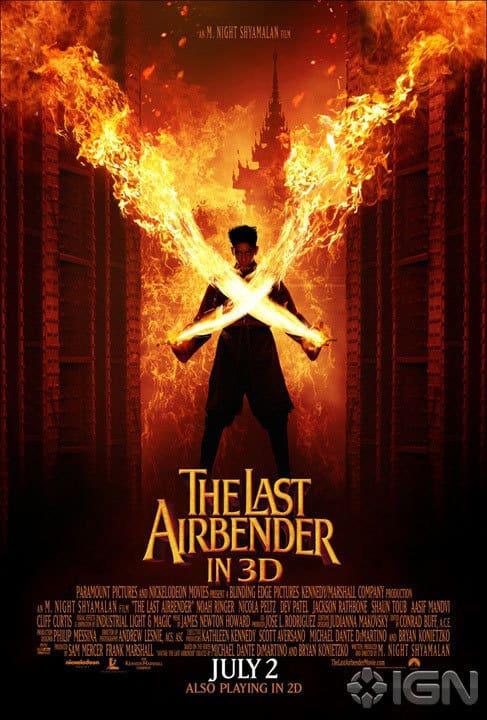 The Last Airbender Zuko Poster