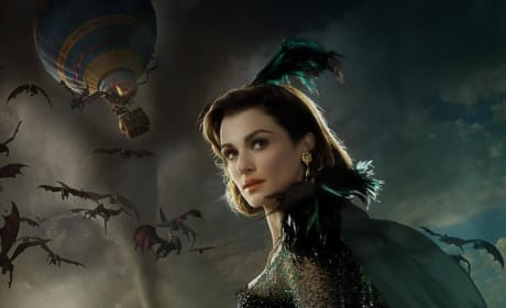 Oz the Great and Powerful Character Poster: Rachel Weisz is Wicked