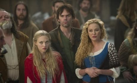 Billy Burke and Virginia Madsen in Red Riding Hood