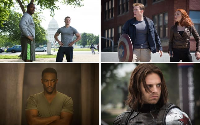 Chris evans anthony mackie captain america the winter soldier