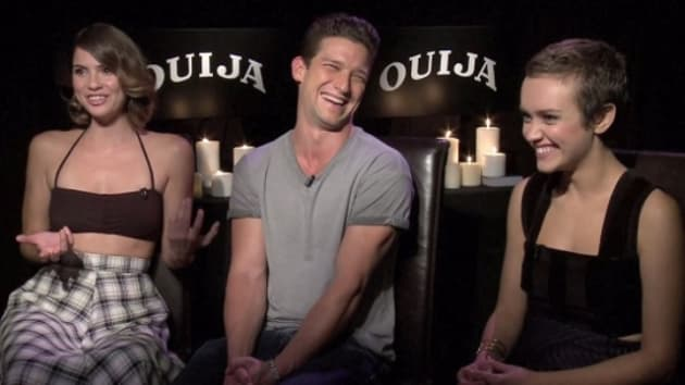 Ouija Exclusive: Olivia Cooke & Cast Dish Perfect Date
