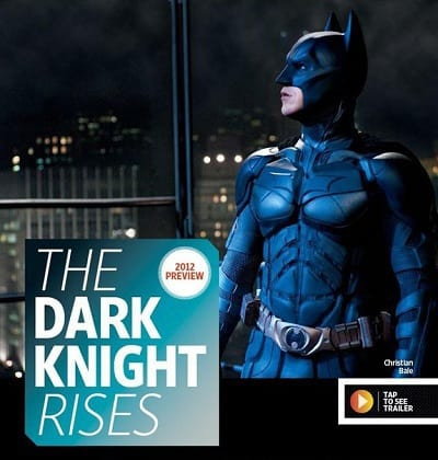 The Dark Knight Rises: Christian Bale in Batsuit