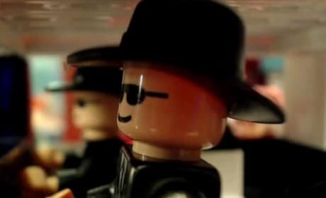Blues Brothers Mall Chase Scene: Done with Legos!