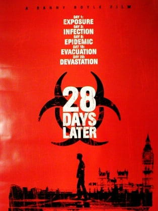 28 Days Later Poster