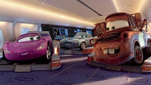 The Gang from Cars 2