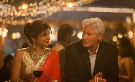 The Second Best Exotic Marigold Hotel Richard Gere Lillete Dubey