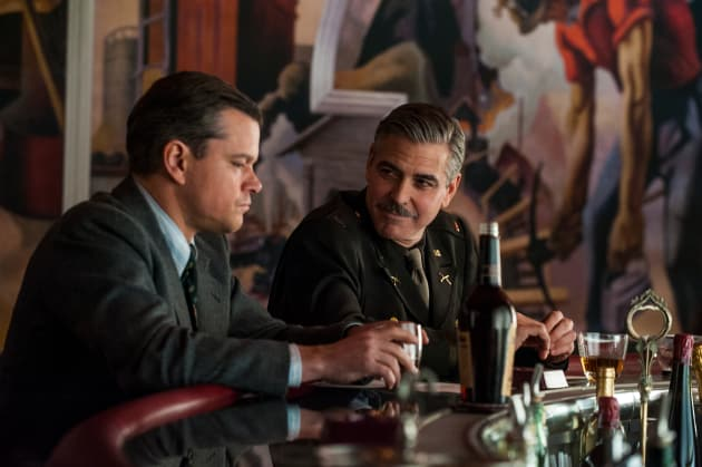 Matt Damon George Clooney The Monuments Men