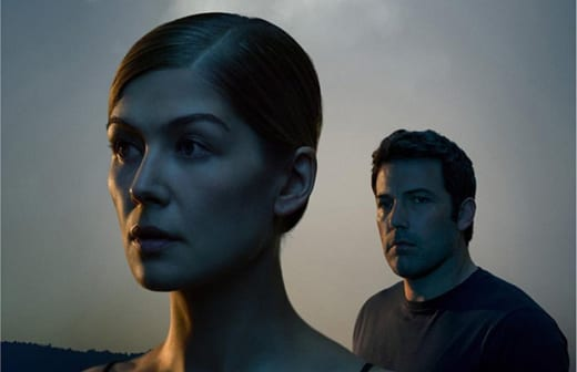Gone Girl Ben Affleck Rosamund Pike Poster