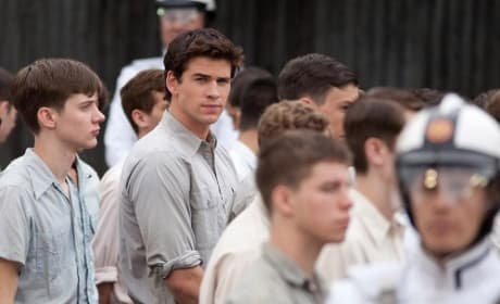 New Photo of Liam Hemsworth in The Hunger Games
