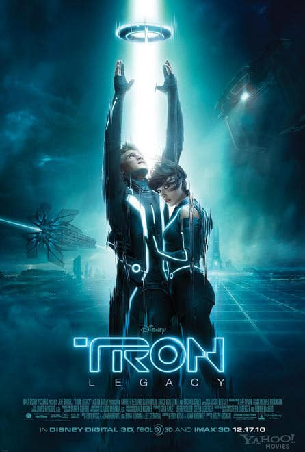 Tron Legacy Theatrical Poster