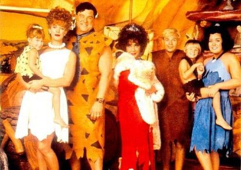 The Cast of The Flintstones