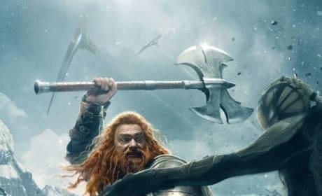 Thor The Dark World Ray Stevenson Volstagg Poster
