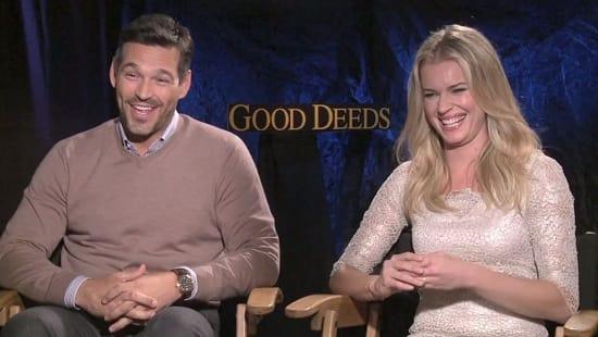 Eddie Cibrian and Rebecca Romijn Interview