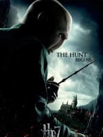 HP7 Voldemort Behind Poster