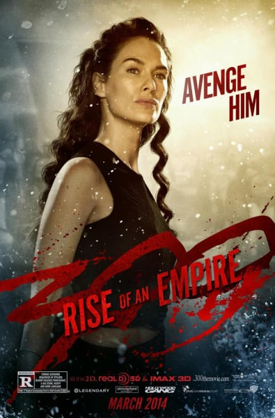 300: Rise of An Empire Lena Headey Character Poster