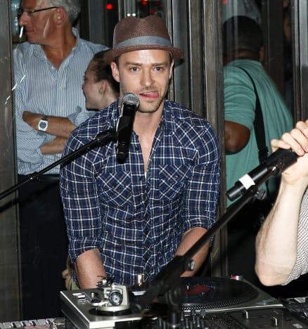 Justin Timberlake at Work