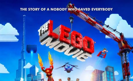 The LEGO Movie Poster: Story of a Nobody Who Saved Everybody