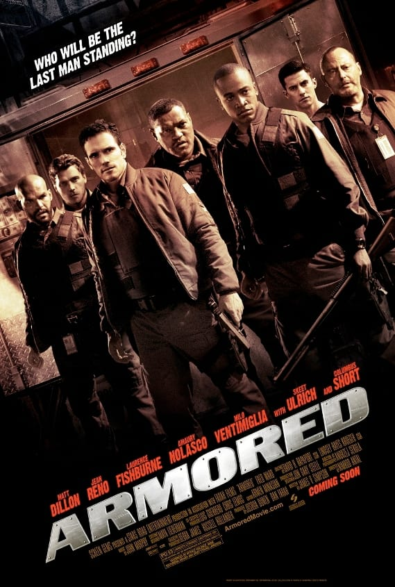 Armored cast poster