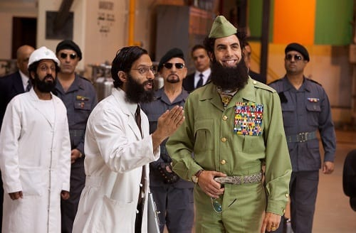 Sacha Baron Cohen Arrives in The Dictator