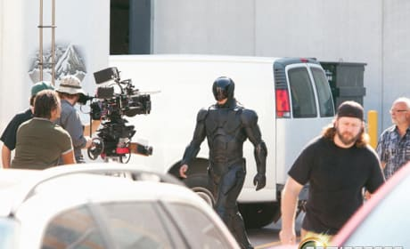 RoboCop Set Photo