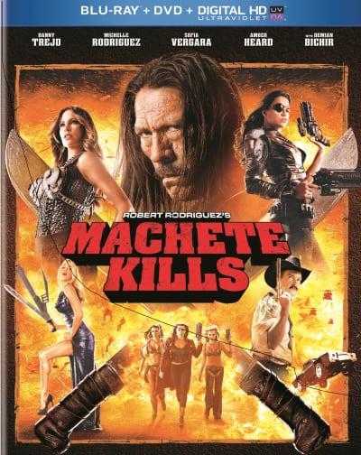 Machete Kills DVD/Blu-Ray Combo Pack