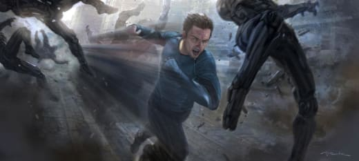 Avengers Age of Ultron Quicksilver Concept Art