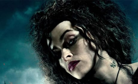 HP7 Bellatrix Hunt Begins Poster