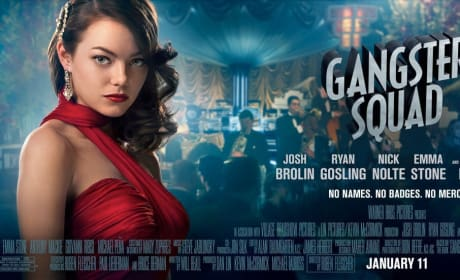 Gangster Squad Character Posters: No Names. No Badges. No Mercy.