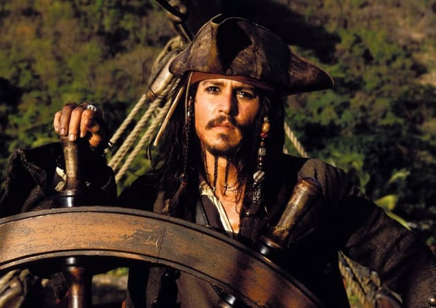 Johnny Depp is Jack Sparrow