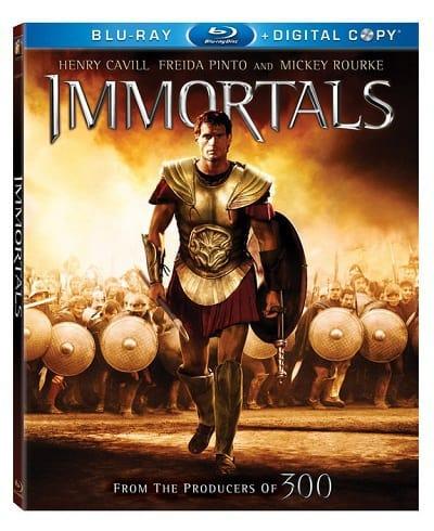 The Immortals Blu-Ray