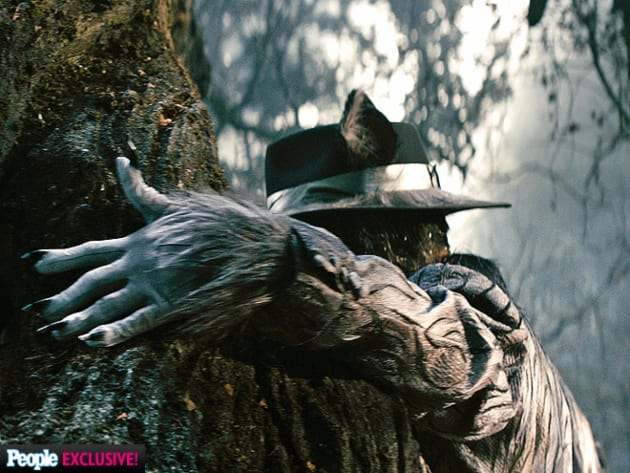 Johnny Depp is the Big Bad Wolf
