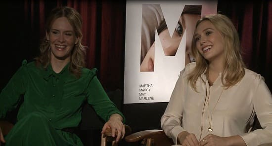 Elizabeth Olsen and Sarah Paulson Interview Pic