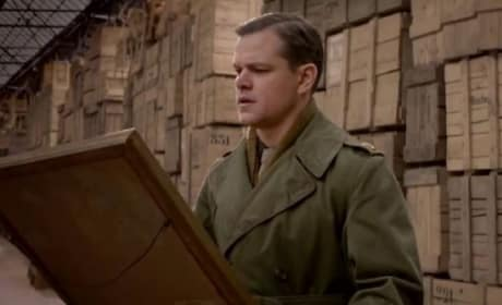 The Monuments Men Matt Damon