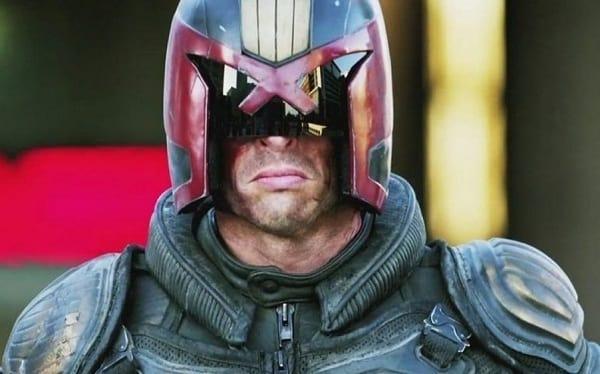 Karl Urban is Dredd