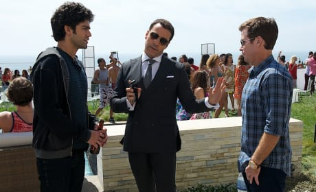 Entourage Adrian Grenier Jeremy Piven Kevin Connolly