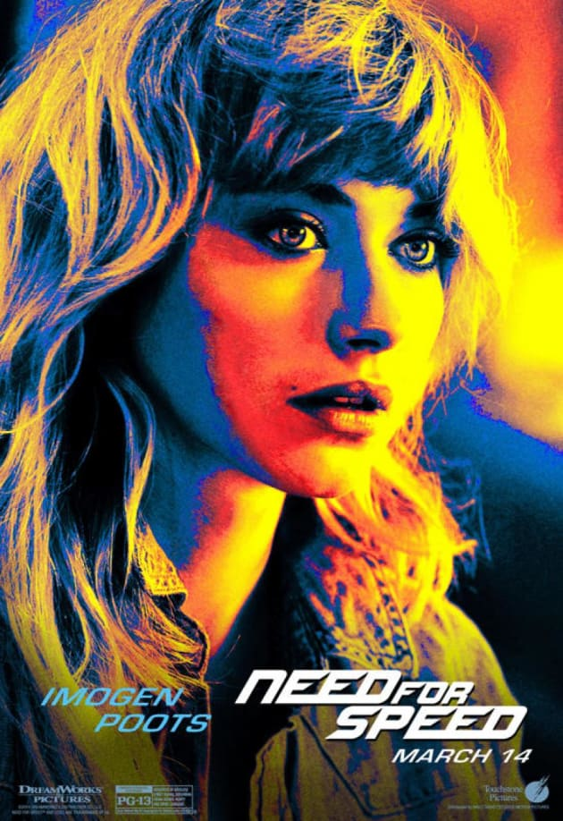 Need for Speed Imogen Poots Poster