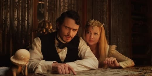 James Franco Michelle Williams Oz The Great and Powerful