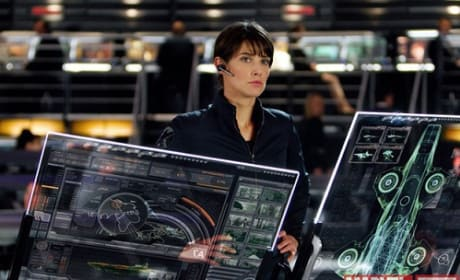 The Avengers: Photos of Cobie Smulders' Agent Maria Hill