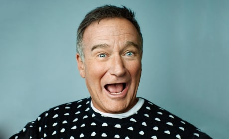 Robin Williams Funny Photo