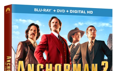 Anchorman 2 DVD Cover