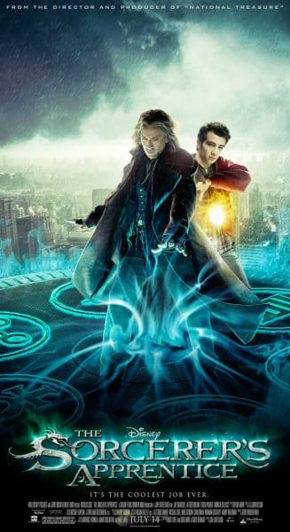 Sorcerer's Apprentice Newspaper Poster