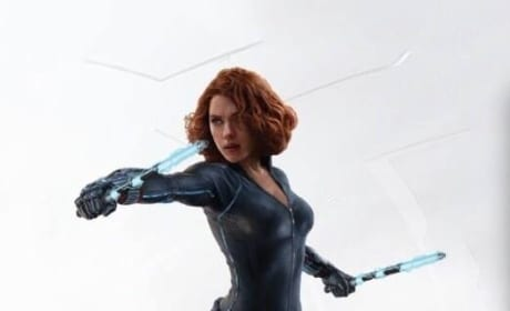Avengers Age of Ultron Promo Art Black Widow