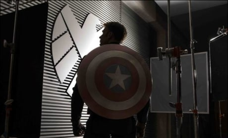 Captain America The Winter Soldier: Cap's Back in First Photo