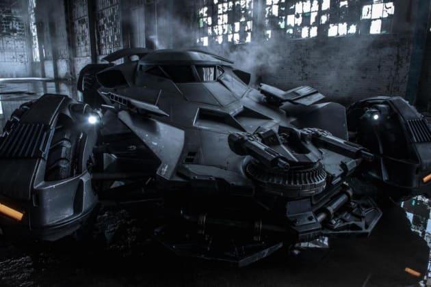 Batman v Superman: Dawn of Justice Batmobile Photo