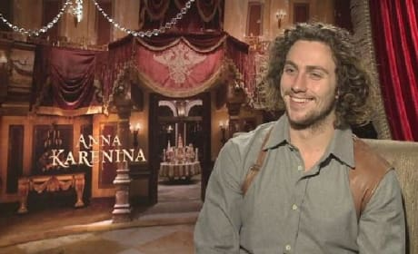 Anna Karenina: Aaron Taylor Johnson Talks Tolstoy & Kick-Ass 2
