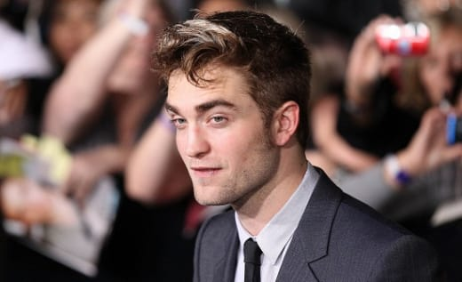 The Breaking Dawn Part 1 Premiere: Robert Pattinson