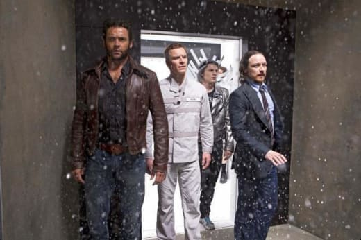 X-Men Days of Future Past Evan Peters Hugh Jackman