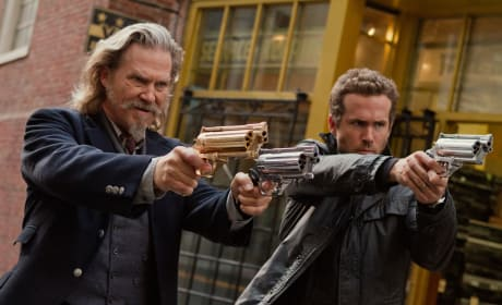 R.I.P.D. Stars Ryan Reynolds Jeff Bridges